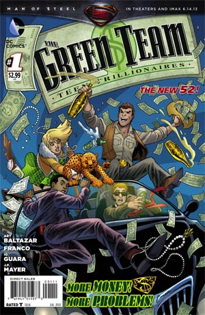 Green Team Teen Trillionaires #1 Regular Amanda Conner Cover