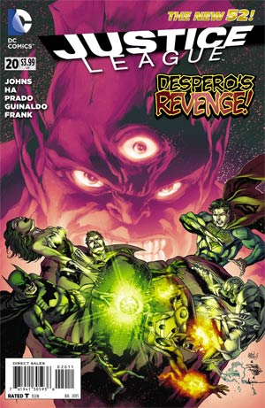 Justice League Vol 2 #20 Regular Ivan Reis Cover (Trinity War Prelude)
