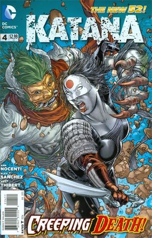 Katana #4 Regular Juan Jose Ryp Cover