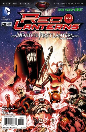 Red Lanterns #20 Regular Miguel Sepulveda Cover (Wrath Of The First Lantern Tie-In)