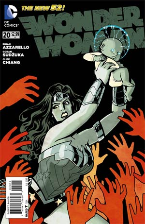 Wonder Woman Vol 4 #20 Regular Cliff Chiang Cover