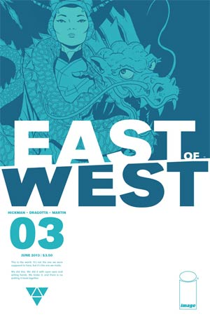 East Of West #3 Cover A 1st Ptg