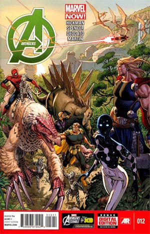 Avengers Vol 5 #12 Regular Dustin Weaver Cover