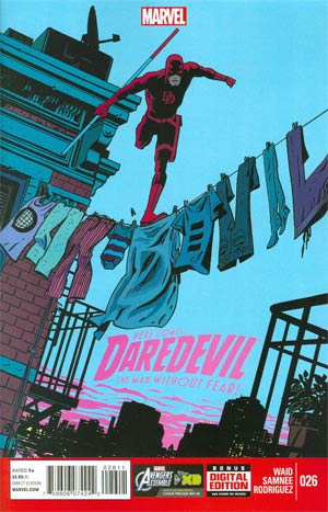 Daredevil Vol 3 #26 Regular Chris Samnee Cover