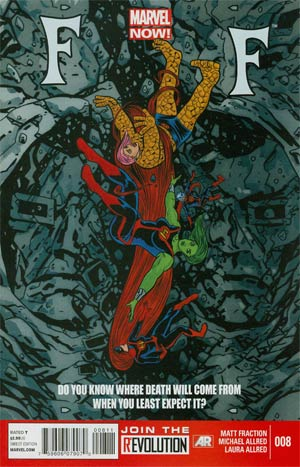 FF Vol 2 #8 Cover A Regular Mike Allred Cover