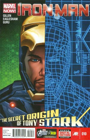 Iron Man Vol 5 #10 Regular Greg Land Cover