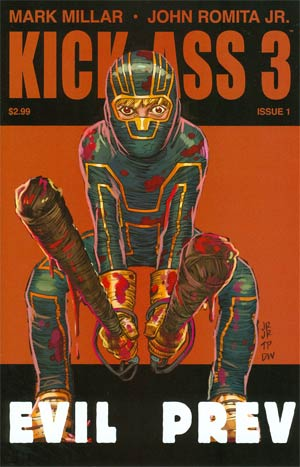 Kick-Ass 3 #1 1st Ptg Regular John Romita Jr Cover