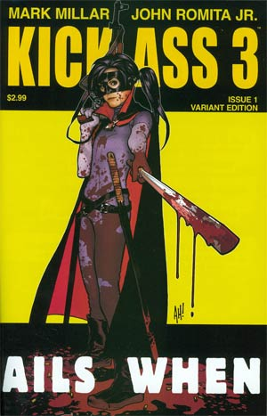 Kick-Ass 3 #1 1st Ptg Variant Adam Hughes Cover