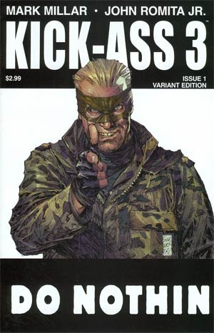 Kick-Ass 3 #1 1st Ptg Variant Marc Silvestri Cover
