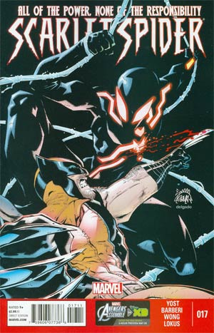 Scarlet Spider Vol 2 #17 Regular Ryan Stegman Cover