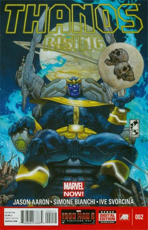 Thanos Rising #2 Regular Simone Bianchi Cover