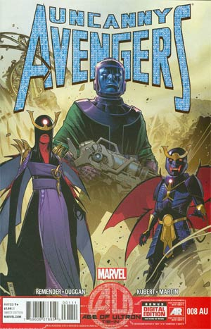 Uncanny Avengers #8AU (Age Of Ultron Tie-In)