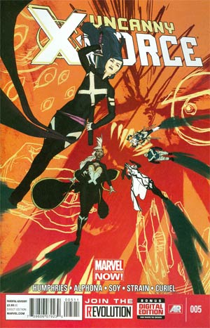 Uncanny X-Force Vol 2 #5 Regular Kris Anka Cover