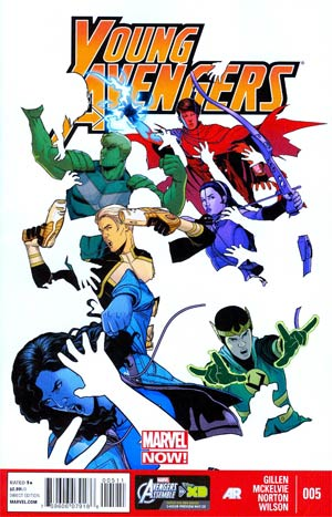 Young Avengers Vol 2 #5 Regular Jamie McKelvie Cover