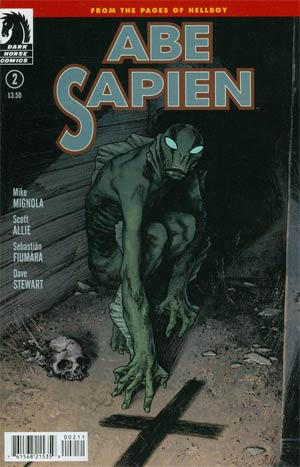 Abe Sapien #2 Dark And Terrible Part 2