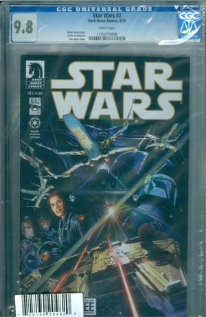 Star Wars (Dark Horse) Vol 2 #2 Cover D DF CGC 9.8