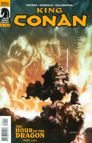 King Conan Hour Of The Dragon #1 Regular Gerald Parel Cover