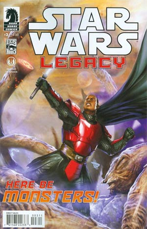 Star Wars Legacy Prisoner Of The Floating World #3