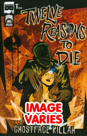 DO NOT USE (DUPLICATE LISTING) 12 Reasons To Die #1 (Filled Randomly With 1 Of 2 Covers)