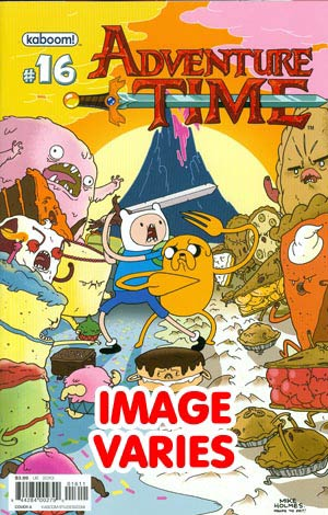 DO NOT USE Adventure Time #16 Regular Cover (Filled Randomly With 1 Of 2 Covers)