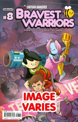 DO NOT USE (DUPLICATE LISTING) Bravest Warriors #8 Regular Cover (Filled Randomly With 1 Of 2 Covers)