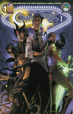 Charismagic Vol 2 #1 Regular Direct Market Cover