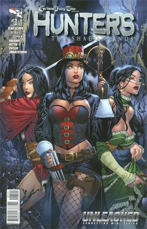 Grimm Fairy Tales Presents Hunters The Shadowlands #1 Cover B Paulo Siqueira (Unleashed Tie-In)