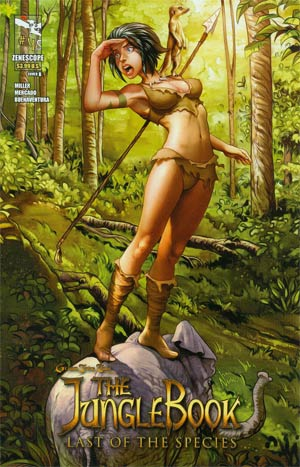 Grimm Fairy Tales Presents Jungle Book Last Of The Species #4 Cover B Ivan Nunes