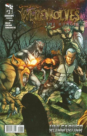Grimm Fairy Tales Presents Werewolves The Hunger #1 Cover A Anthony Spay (Unleashed Tie-In)