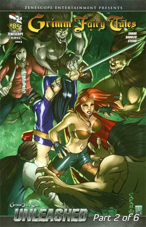 Grimm Fairy Tales #85 Cover B Giuseppe Cafaro (Unleashed Part 2)