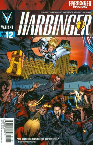 Harbinger Vol 2 #12 Variant Khari Evans Cover (Harbinger Wars Tie-In)
