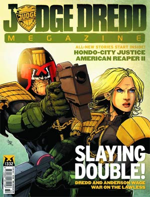 Judge Dredd Megazine #336