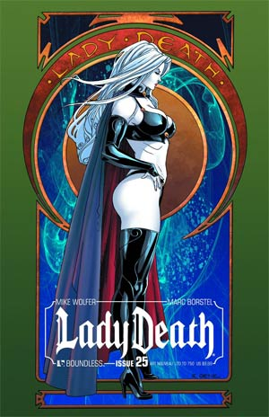 Lady Death Vol 3 #25 Cover S Art Nouveau Cover