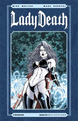 Lady Death Vol 3 #25 Fired Up Cover