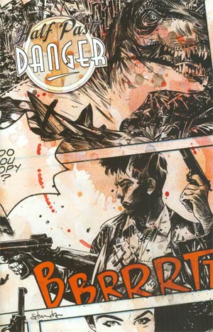 Half Past Danger #1 Variant Tommy Lee Edwards Subscription Cover
