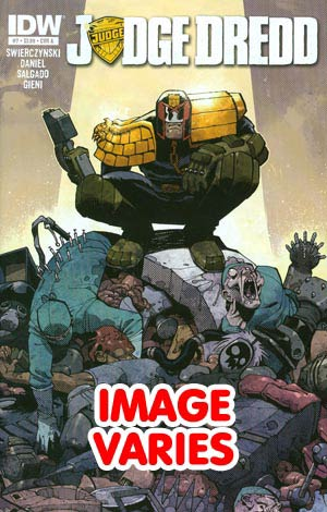 DO NOT USE (DUPLICATE LISTING) Judge Dredd Vol 4 #7 (Filled Randomly With 1 Of 2 Covers)
