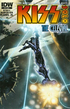 KISS Solo #3 The Celestial Regular Angel Medina Cover