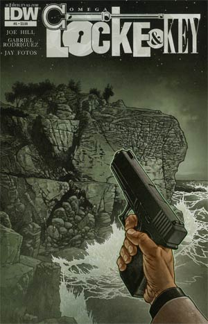 Locke & Key Omega #5 Regular Gabriel Rodriguez Cover