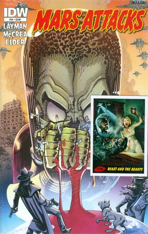 Mars Attacks Vol 3 #10 Regular John McCrea Cover