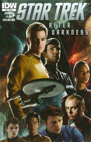 Star Trek (IDW) #21 Regular Tim Bradstreet Cover