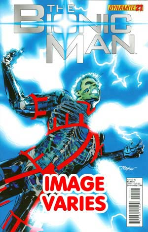 Kevin Smiths Bionic Man #21 (Filled Randomly With 1 Of 2 Covers)