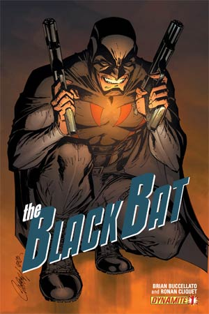 Black Bat #1 Regular Cover A J Scott Campbell