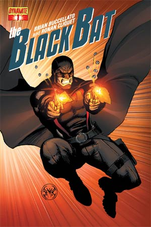 Black Bat #1 Regular Cover B Joe Benitez