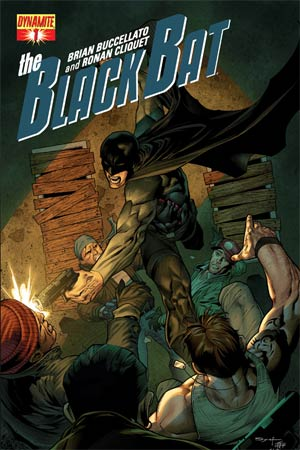Black Bat #1 Regular Cover C Ardian Syaf