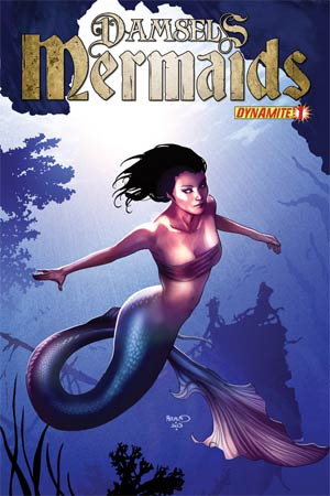 Damsels Mermaids #1 Regular Cover A Paul Renaud