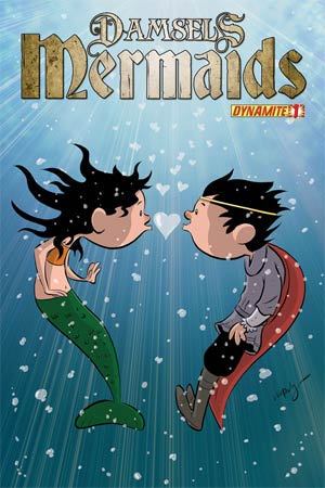 Damsels Mermaids #1 Variant Chris Eliopoulos Cute Subscription Cover