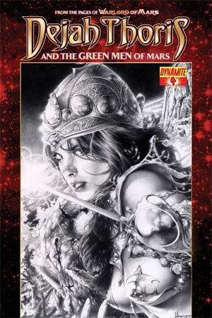 Dejah Thoris And The Green Men Of Mars #4 Variant Jay Anacleto Black & White Subscription Cover