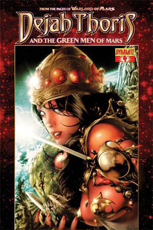 Dejah Thoris And The Green Men Of Mars #4 Regular Jay Anacleto Cover