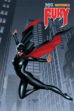 Miss Fury Vol 2 #2 Regular Cover B Paul Renaud