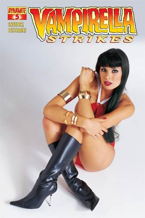 Vampirella Strikes Vol 2 #5 Variant Photo Subscription Cover
